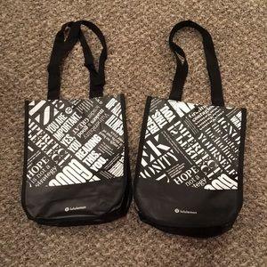 Brand New Lululemon Mini Shopping Bags 🛍